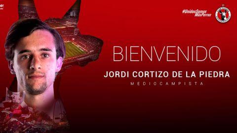 Xolos hace oficial llegada de Jordi Cortizo
