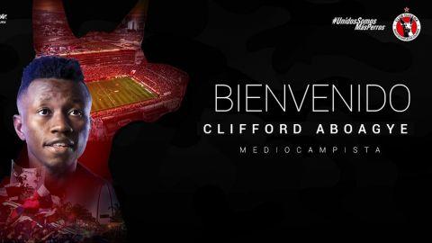 También llega Clifford Aboagye a la frontera mexicana