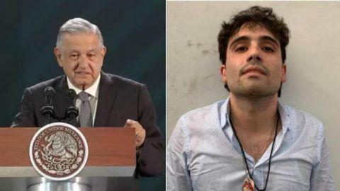 """""""Yo ordené liberar a Ovidio Guzmán"""": López Obrador"""