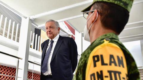 AMLO supervisa rehabilitación del Hospital General Dr. Carlos Calero Elorduy