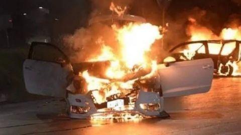 VIDEOS: Sicarios incendian gasolinera, viviendas y vehículos