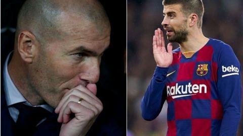 Al Real Madrid ''no'' le favorecen árbitros, dice Zidane a Piqué