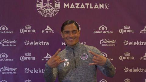 La autoconferencia de Palencia en Mazatlán FC