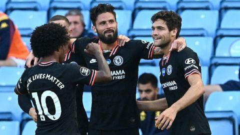 El Chelsea remonta al Aston Villa con dos asistencias de Azpilicueta