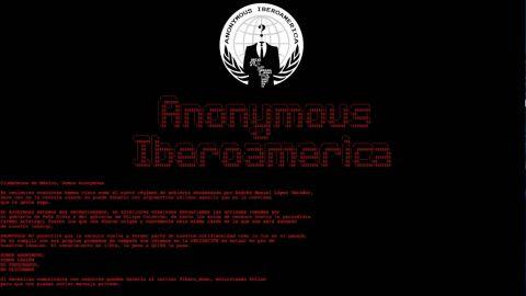 Anonymous hackea página de Conapred; denuncian a gobierno de AMLO