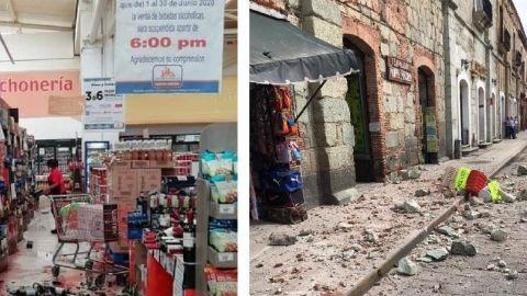 Va un muerto por sismo en Oaxaca