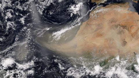 Video: Llega arena del Sahara a Yucatán