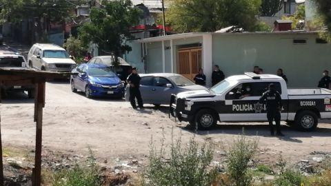 VIDEO: Policías municipales hieren a presunto delincuente con arma de fuego.