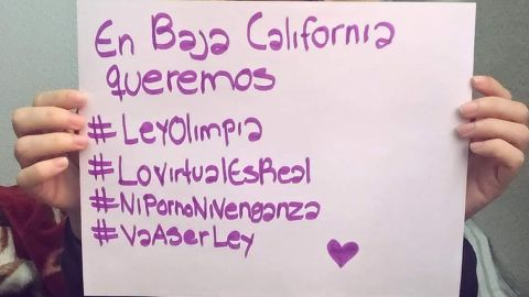 Víctimas de ciberacoso piden legalizar Ley Olimpia en Baja California