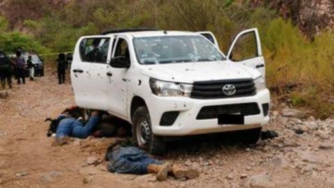 16 muertos en enfrentamiento en Sinaloa