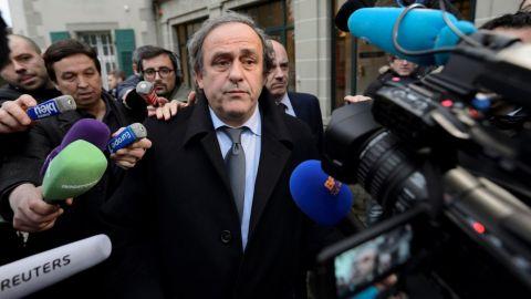 Fiscalía suiza abre investigación contra Michel Platini