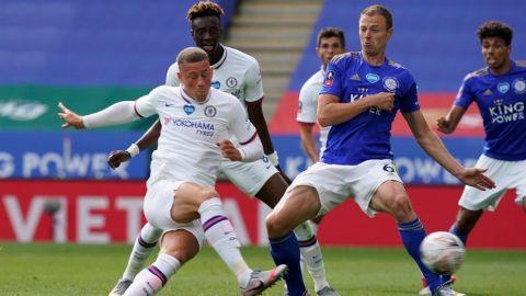Chelsea supera al Leicester y pasa a semifinales de la Copa inglesa