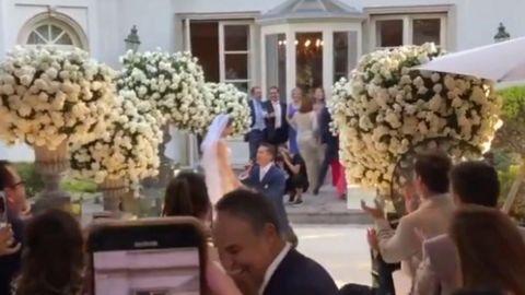VIDEO: Celebran boda de 200 y se contagian de COVID