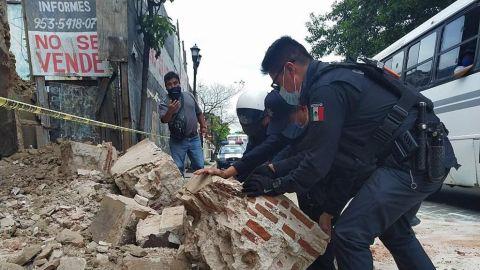 Terremoto en Oaxaca develó pinturas rupestres