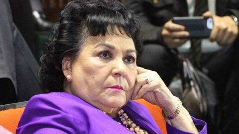Carmen Salinas estalla y llama pendejos a los que no creen en el COVID