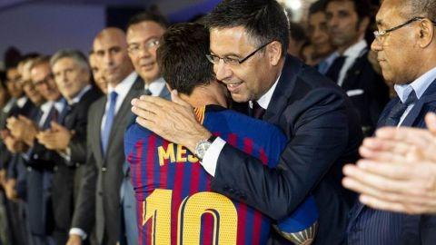 """Bartomeu: """"No hay ninguna duda de que Messi seguirá en el club"""""""