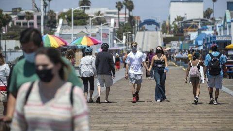 En riesgo apertura de la frontera, imparable el COVID en San Diego