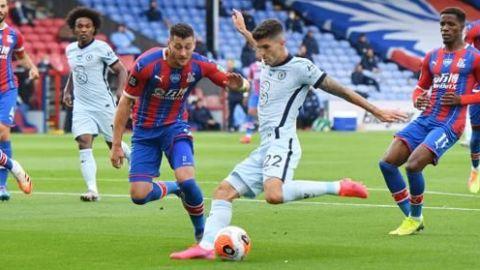 El Chelsea sobrevive al Palace y sigue en la pugna por la Liga de Campeones