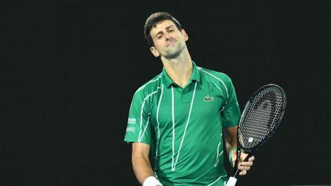 Djokovic dice que no sabe si jugará Abierto EEUU
