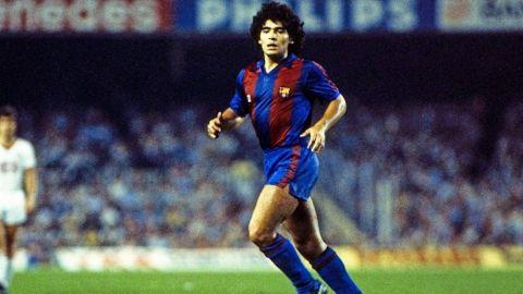 Dos sucesos que marcaron a Maradona en Barcelona