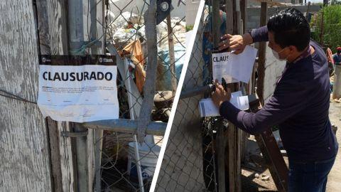 Clausuran foco de contaminación en Tijuana