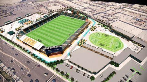 SD Loyal planea construcción de estadio al lado del Sports Arena