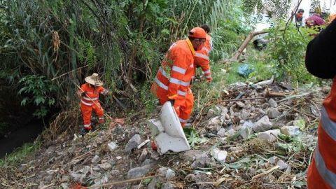 Recolectan 600 toneladas de basura en ríos y barrancas