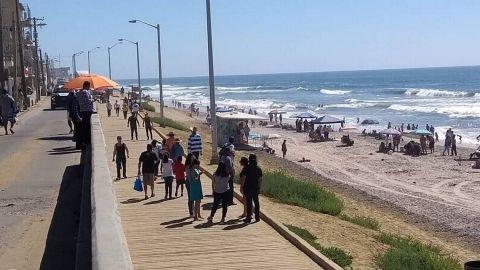 Seguirán playas cerradas en Tijuana