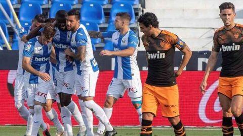 La fe inquebrantable del Leganés doblega a un Valencia con pocas ideas