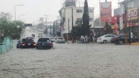 Fuertes daños en 10 municipios de Oaxaca tras fuertes lluvias