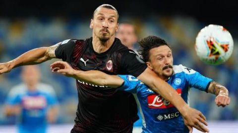 Nápoles y Milan firman tablas
