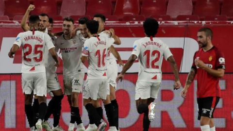 Sevilla acaricia la Champions y frena sueño de la salvación del Mallorca