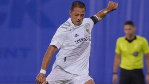 Chicharito marcó su primer gol con el Galaxy