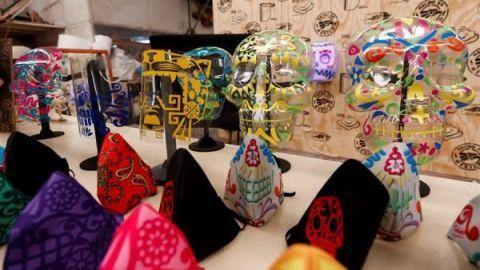 🇲🇽 Fabrican cubrebocas inspirados en la cultura mexicana