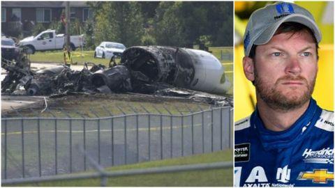 Revelan detalles sobre accidente aéreo de Dale Earnhardt Jr.