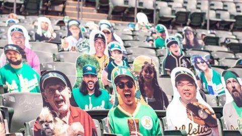 Estadios de MLB contarán con imágenes de aficionados