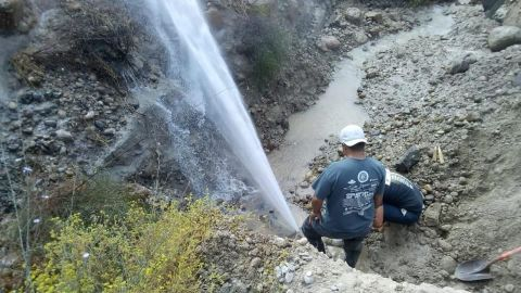 Nueva fuga en el acueducto causará falta de agua en Ensenada