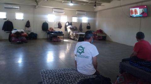Refugio para vulnerables por altas temperaturas