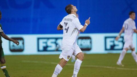 """""""Chicharito"""" Hernández abandona al Galaxy en el torneo de la MLS"""