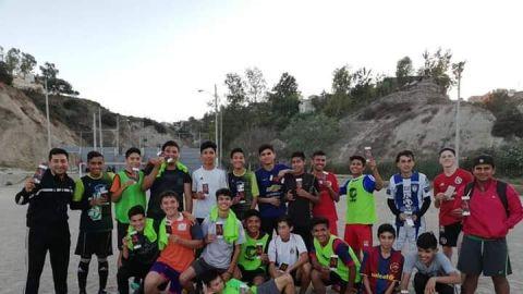 Solicitan apoyo jóvenes futbolistas de Tijuana
