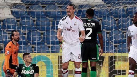 Ibrahimovic prolonga el momento dulce del Milan