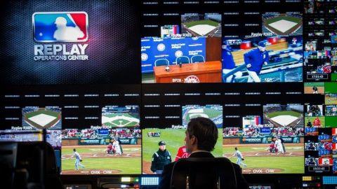 MLB duplica ángulos de cámaras para repetición instantánea