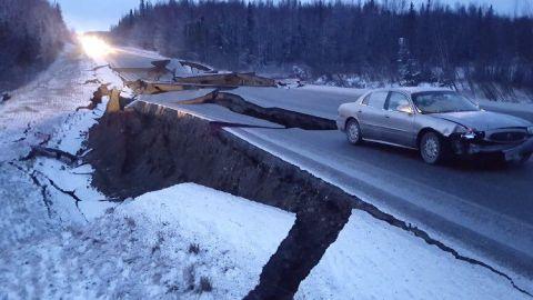 VIDEO: angustiantes momentos vivieron durante el terremoto de 7.8 en Alaska