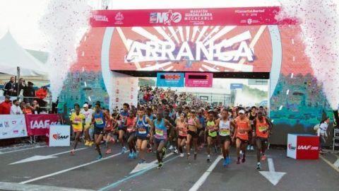 Suspenden por la COVID-19 el Maratón de Guadalajara