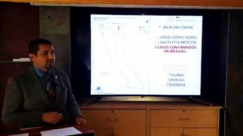 Jaime Bonilla destapó al doctor Pérez Rico para la gubernatura de BC