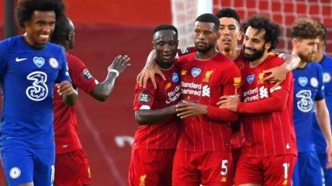 El Liverpool se homenajea con una goleada al Chelsea