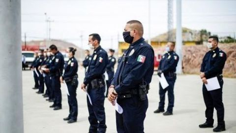 Policía municipal de Tijuana internado por COVID-19 y sin apoyo de la SSPCM