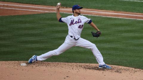 Céspedes, deGrom guían a Mets vs. Bravos