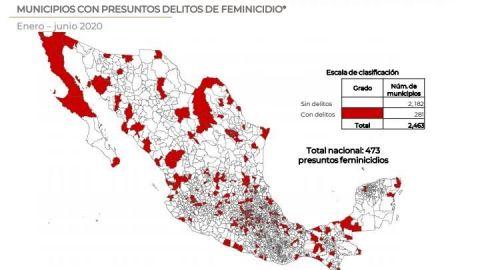 Asesinan a 119 mujeres en BC durante primer semestre