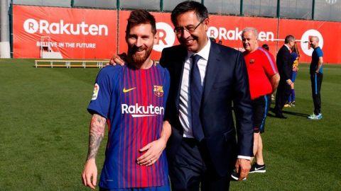 No tengo ninguna duda de que Messi renovará: Bartomeu